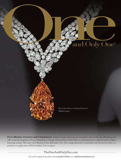 orange-brown diamond